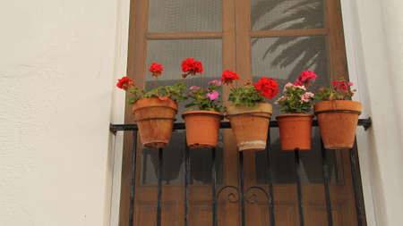 andalusian: Pots Andalusian balcony