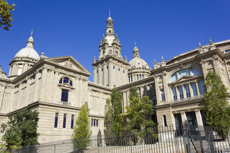 The National Palace of Montjuic become the National Museum of Catalan Art
