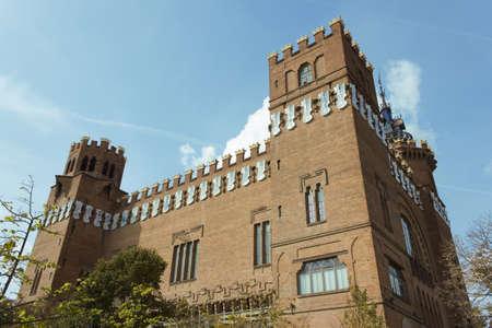 Modernist building was built between 1887-1888 by Lluis Domenech i Montaner Stock Photo - 11129005