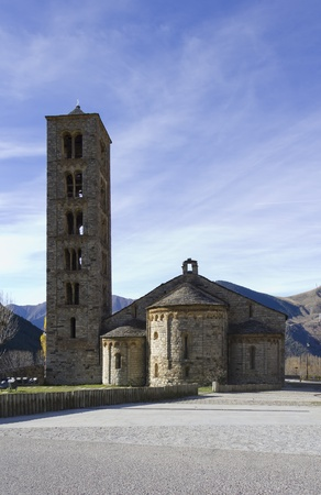 Catalan Romanesque Churches of the Vall de Boi Stock Photo
