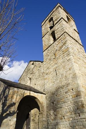 Romanesque church of St. Felix of Barruera, in the Spanish Pyrenees