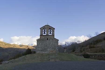 Ermita de San Quirce Durro, Spain Stock Photo