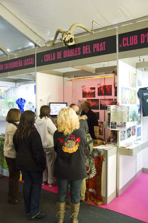 EL PRAT, SPAIN - DECEMBER 18: 38 edition of the Prat Breed Poultry on december 14, 2011 in El Prat de Llobregat, Spain