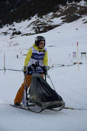 BAQUEIRA BERET, SPAIN - 25 DE ENERO: 22ª edición Pirena Gran Premio Advance. 25 de enero de 2012 en Baqueira Beret (España) Editorial