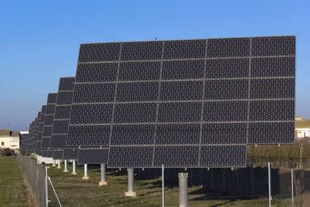 Solar panel, clean and renewable energy