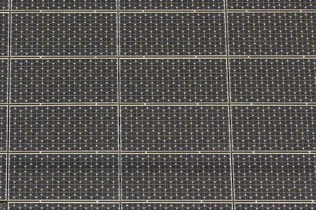 Solar panel, clean and renewable energy photo