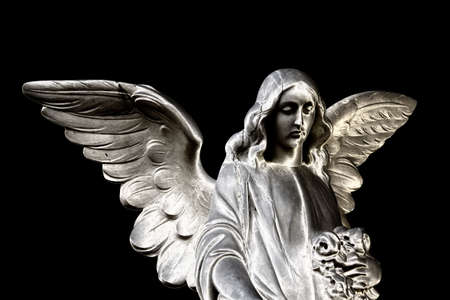 Statue of an angel in the cemetery Stock Photo - 12577355
