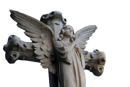 Statue of an angel in the cemetery Stock Photo - 12577213