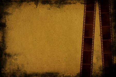 35mm film background and space for your text photo