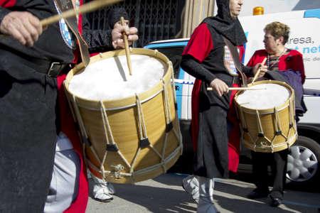 MANRESA, SPAIN - 26 of FEBRUARY: Medieval Fair Manresa. February 26, 2012 in Manresa, Barcelona (Spain) Stock Photo - 12386066
