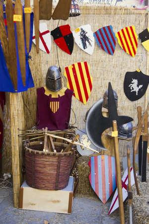 MANRESA, SPAIN - 26 of FEBRUARY: Medieval Fair Manresa. February 26, 2012 in Manresa, Barcelona (Spain) Stock Photo - 12386235