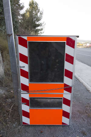 Traffic radar for excessive speed fining photo