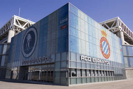BARCELONA, SPAIN - 7 of MARCH: RCD Espanyol stadium. March 7, 2012 in Barcelona (Spain)