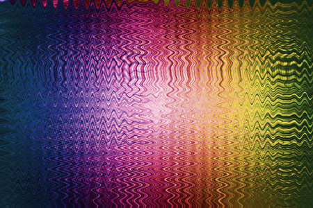 vibrate: Lines that Vibrate, Abstract rainbow background