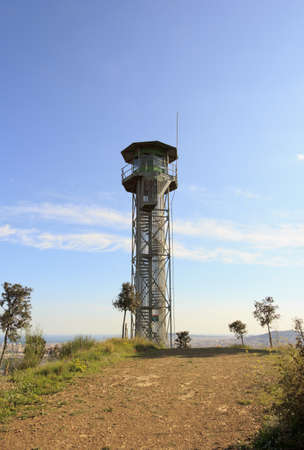 Fire lookout tower photo