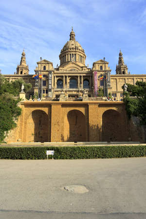 montjuic: Montjuic Palace, Museum of Contemporary Art in Barcelona