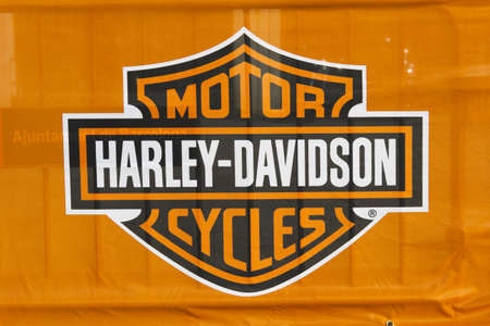 BARCELONA, SPAIN - JULY 8: Barcelona Harley Days 2012. July 8, 2012 in Barcelona, Spain. Editorial