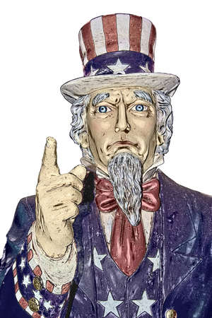 Uncle Sam in colors photo