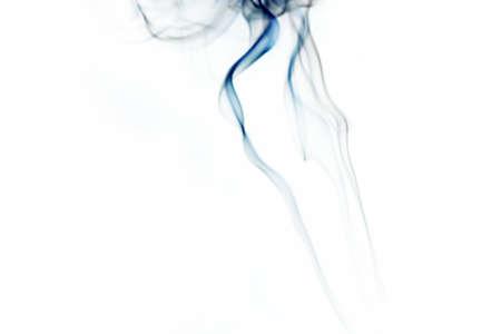 Smoke on white Stock Photo - 16417764