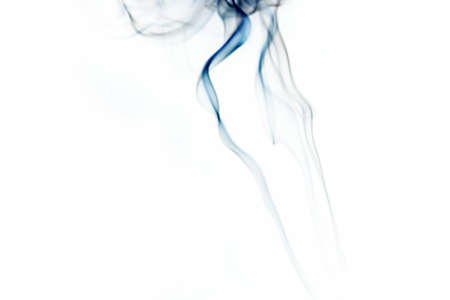 Smoke on white Stock Photo - 16417764