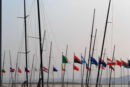 auspices: The IV Olympic Sailing World Championships will be held in Santander (Spain) between 8 and 21 September 2014 under the auspices of the International Sailing Federation (ISAF) and the Royal Spanish Sailing Federation.The competitions will be held in sea Ca Editorial