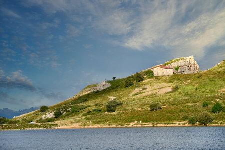 El Juncal Reservoir, Cantabria, Spain