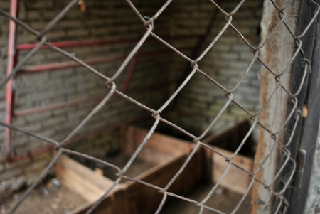 marginalized: Old abandoned farmhouse poverty symbol of marginalized villages in South America