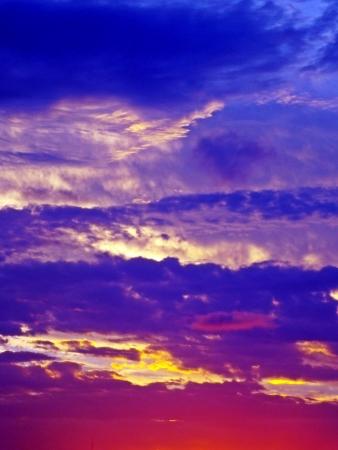 bordeau: incredible sunset sky