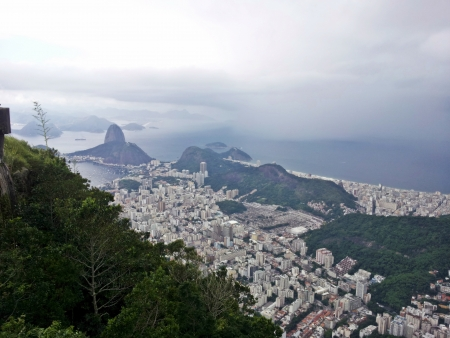 fantastic view: fantastic view of the most beautiful city in the world, Rio de Janeiro, Brazil 2 Stock Photo