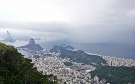 fantastic view: fantastic view of the most beautiful city in the world, Rio de Janeiro, Brazil 1