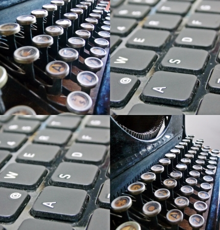 evolution  computers and typewriters photo