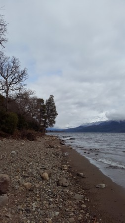 fantastic landscape in southern Argentina photo