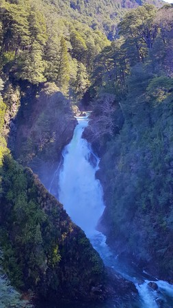 salmon falls: fantastic waterfall 3