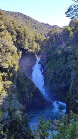 waterfall scenery photo