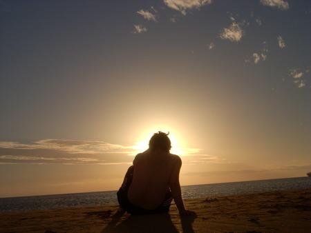 union beach: Alone in the beach