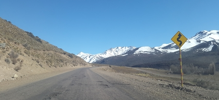 pending: Argentine routes, high mountain road, Andes Mountains 30