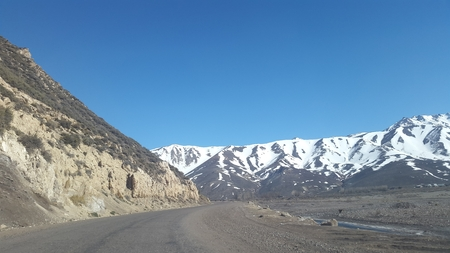 pending: Argentine routes, high mountain road, Andes Mountains 21 Stock Photo