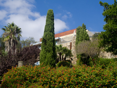 cartagena: towers park in Cartagena, Spain Stock Photo