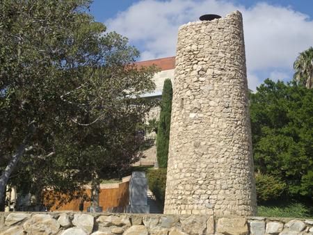 cartagena: Park Torres, Cartagena, Spain Stock Photo