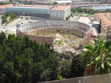 cartagena: amphitheater in Cartagena, Spain