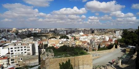 cartagena: Panoramic city of Cartagena, Spain Stock Photo