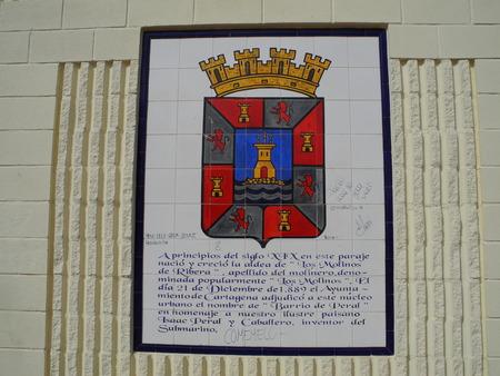 cartagena: coat of Cartagena, Spain