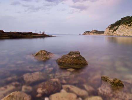 Beautiful mediterranean cove located in the Costa Blanca of Spain. Stock Photo - 5606651