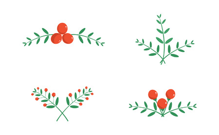 fruitage: Christmas decorations pattern