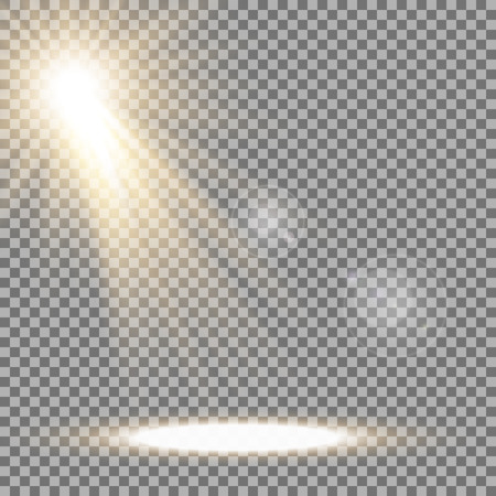 Shining star with a stardust , lights and bursts sparkles with stardust on transparent illustration.