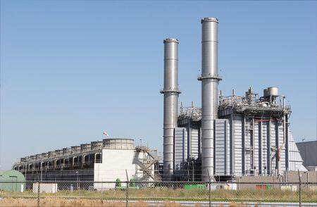 Fabrieksinstallatie Stockfoto