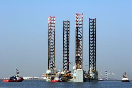 Offshore platform Stock Photo - 863538