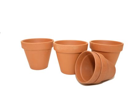 Terracotta pots Stock Photo - 7136368