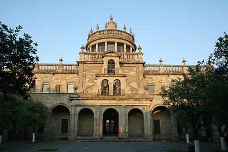 Hospicio caba?as facade made of quarry Banco de Imagens - 37014046