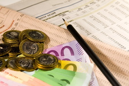 quotations: Currency, euro, roubles, quotations, rating